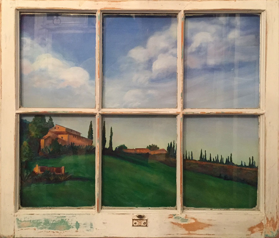 Window on Tuscany